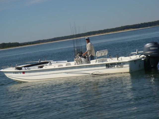 Captain John on his boat