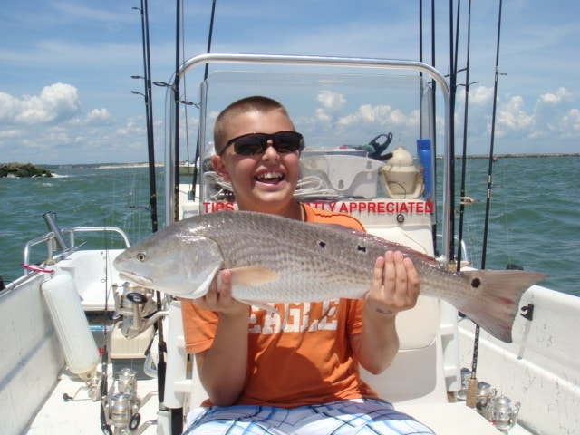 myrtle beach fishing charters graphic